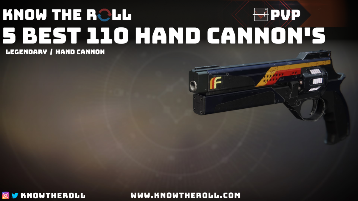 Top 5 Best 110 Hand Cannons