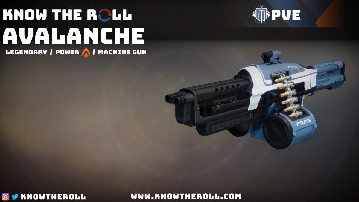 Avalanche PVE God Roll