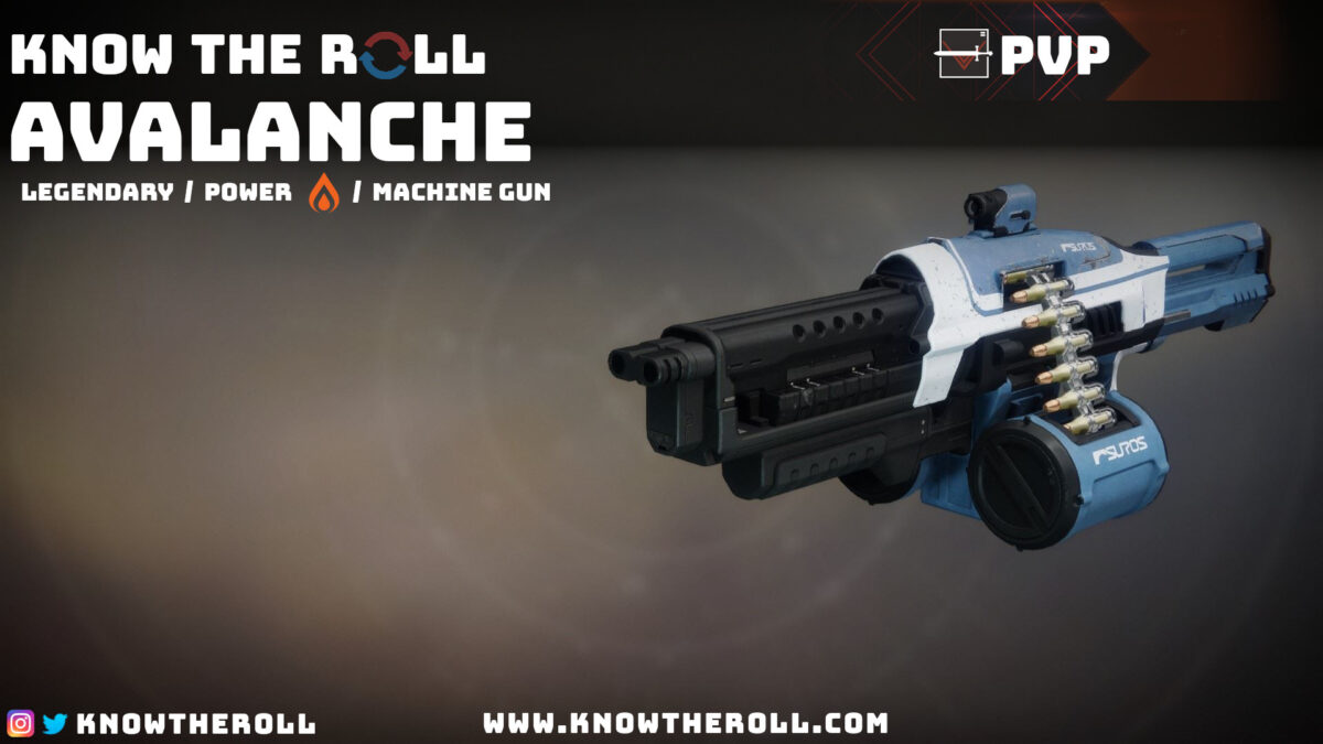 Avalanche PVP God Roll