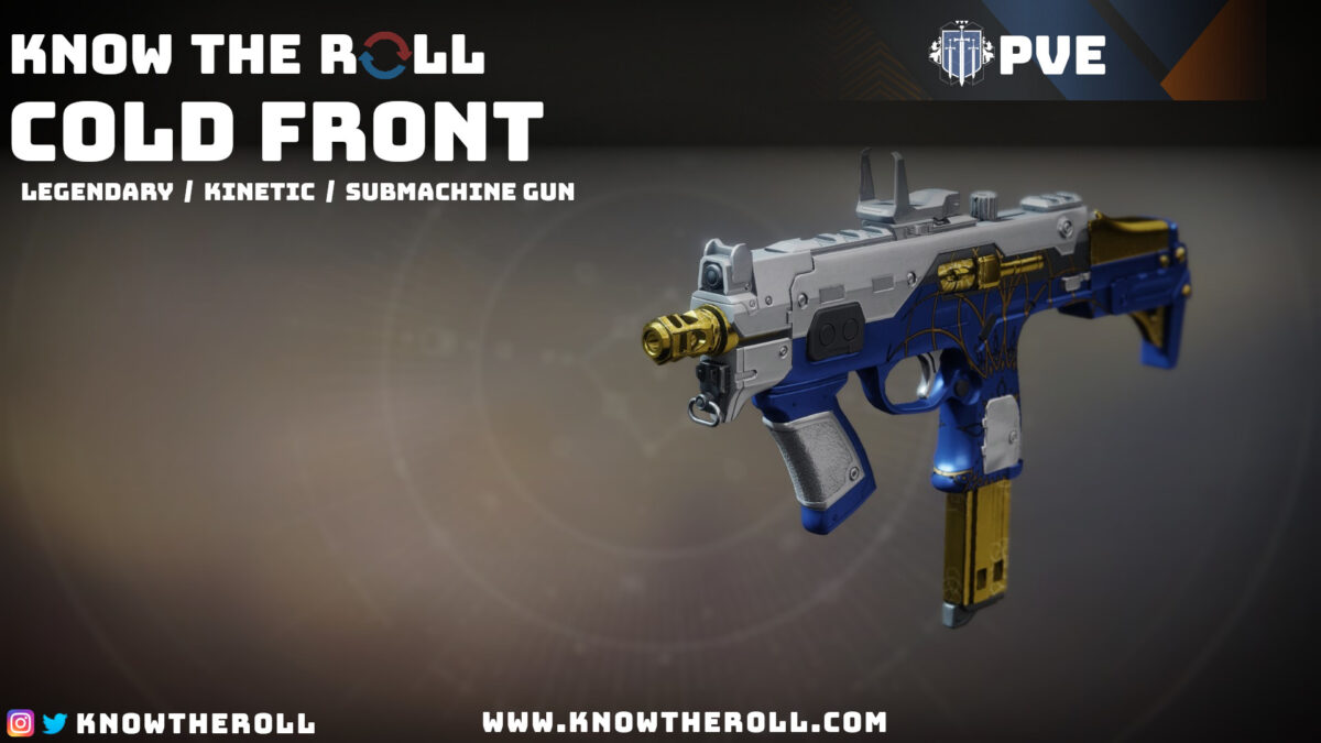 Cold Front PVE God Roll