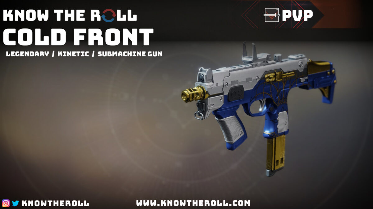 Cold Front PVP God Roll