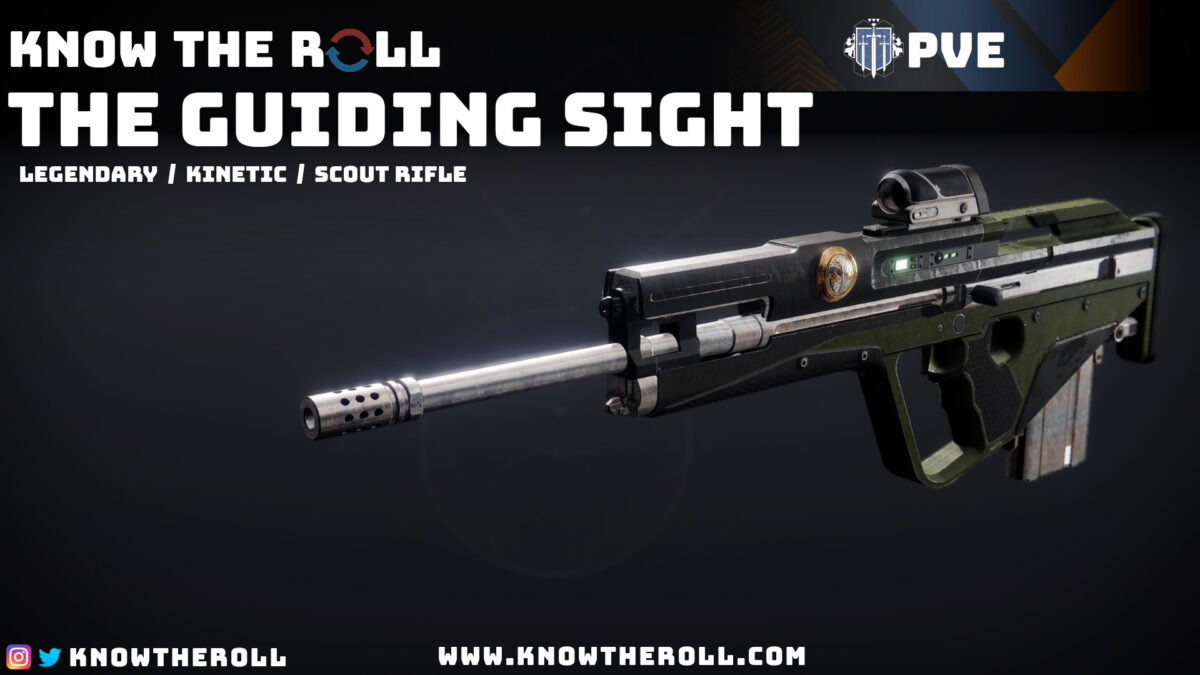 The Guiding Sight PVE God Roll