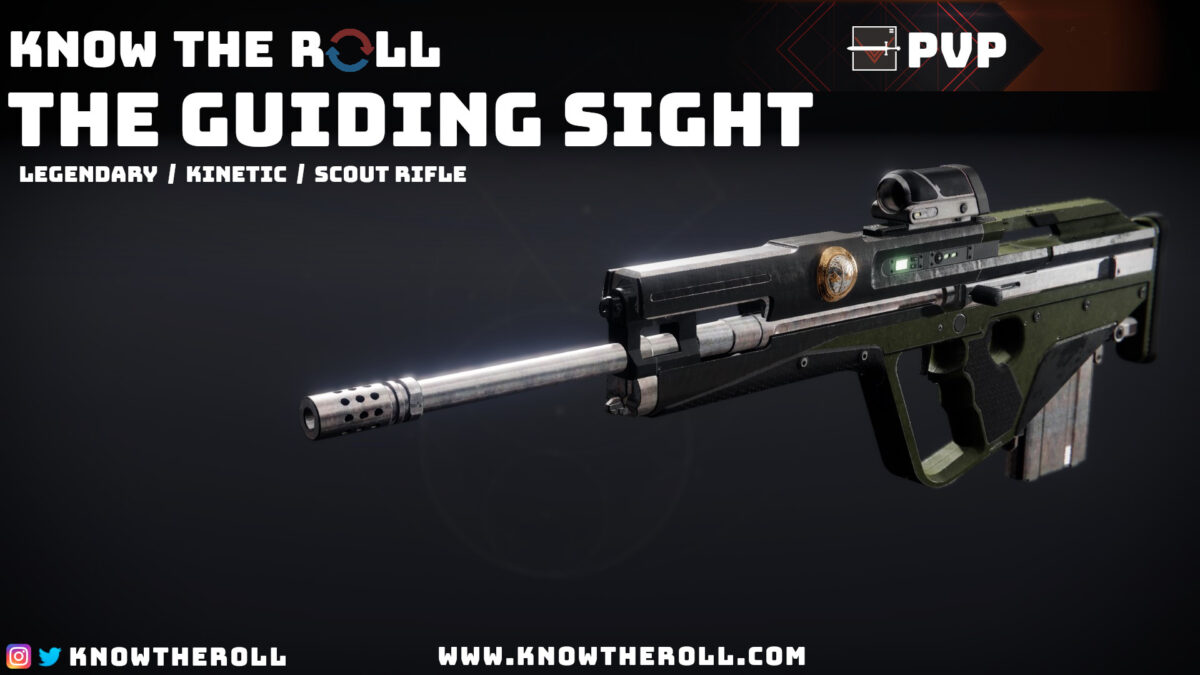 The Guiding Sight PVP God Roll