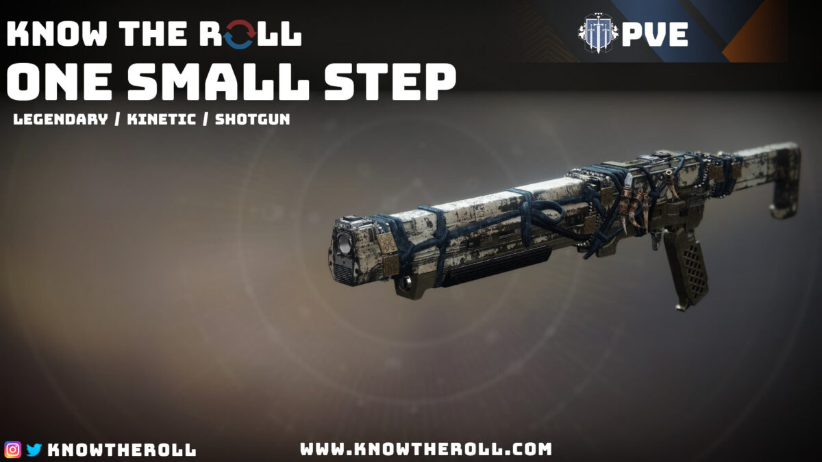 One Small Step PVE God Roll