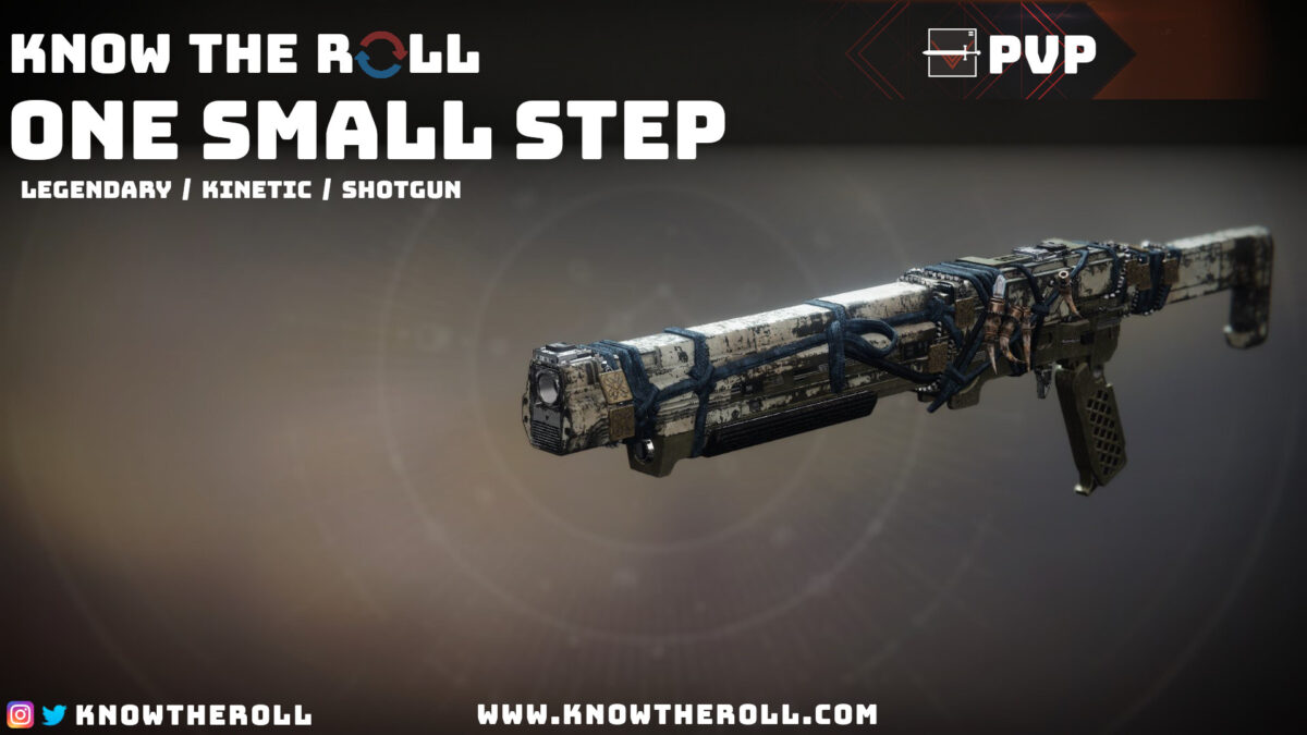 One Small Step PVP God Roll