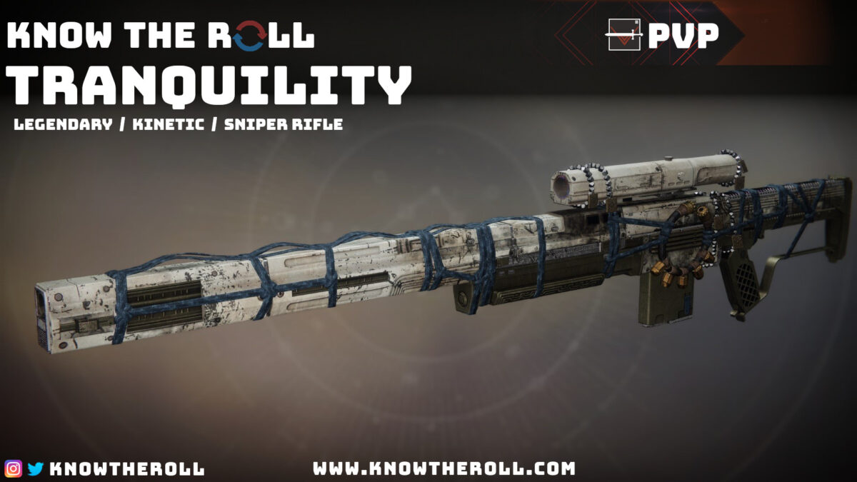 Tranquility PVP God Roll