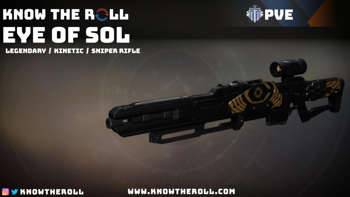 Eye of Sol PVE God Roll