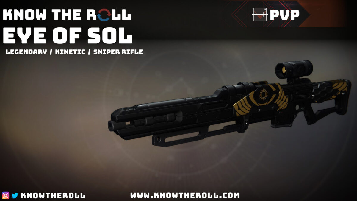 Eye of Sol PVP God Roll